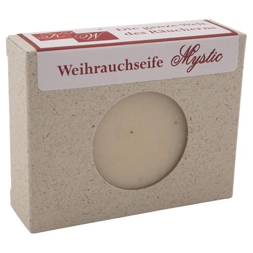 """Handgemachte Weihrauchseife """"Mystic"""" – mit echtem, gemahlenen, naturreinen Weihrauchharz –..."""