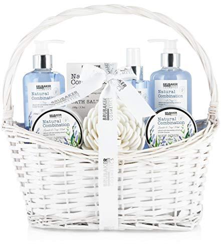 BRUBAKER Cosmetics Beauty Pflegeset - mit Lavendel & Salbei Minze Extrakten - Geschenkset im...
