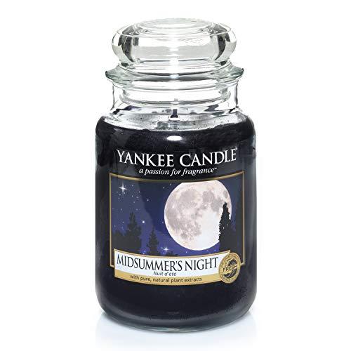 Yankee Candle große Duftkerze im Glas, Midsummer's Night, Brenndauer bis zu 150Stunden