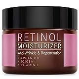 Retinol Creme Moisturizer - 2,5% Retinol Anti-Aging Formel mit Vitamin E, Arganöl und Jojoba -...