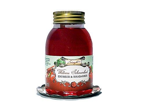Einseifer Wellness Schaumbad Erdbeere & Rhabarber Badezusatz