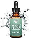 Retinol Serum Testsieger 2019-2,5% Retinol Liposomen Liefersystem mit 20% Vitamin C & Vegan...