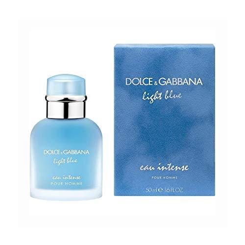 Dolce & Gabbana Light Blue Eau Intense Eau de Parfum für Herren, Zerstäuber, 50ml, 1Stück