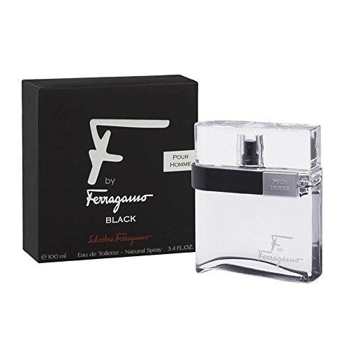 Salvatore Ferragamo F Black Pour Homme Eau de Toilette Spray 100 ml