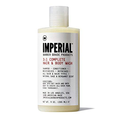 Imperial Barber 3:1 Complete Hair & Body Wash 265ml