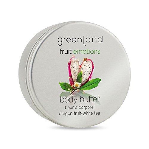 Greenland Body Butter Drachenfrucht Weißer Tee | Verwöhnende Bodybutter ohne Parabene & Veggie |...
