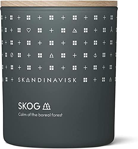 Skandinavisk SKOG 'Wald' Duftkerze. Duftnoten: Kiefernnadeln und Tannenzapfen, Birkensaft und...