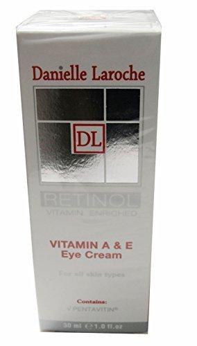 Danielle Laroche Retinol Vitamin A & E Eye Cream 1.oz oz by Danielle Laroche