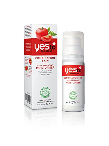 Yes To Tomatoes Daily Balancing Moisturiser, 1er Pack (1 x 50 g)
