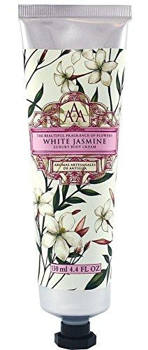 Aromas Artesanales De Antigua Floral White Jasmine Luxury Body Cream 130ml
