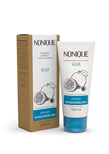 NONIQUE Energie Waschpeeling, 1er Pack - gegen unreine Haut - vegane Naturkosmetik