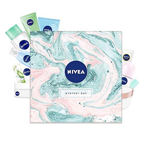 NIVEA Mystery Box Wundertüte Überraschungsbox Geschenkset für Damen in schöner Box, 10-teiliges...