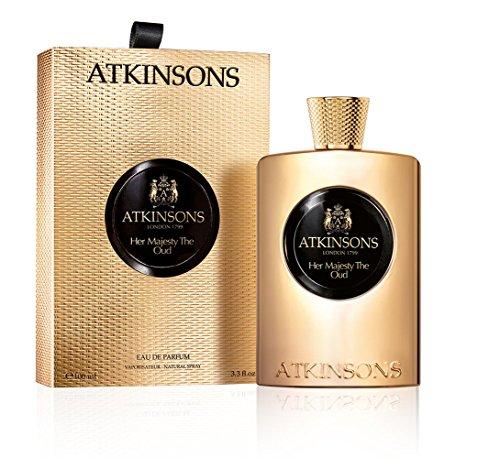 ATKINSONS Her Majesty the Oud femme/woman, Eau de Parfum Spray, 1er Pack (1 x 100 ml)