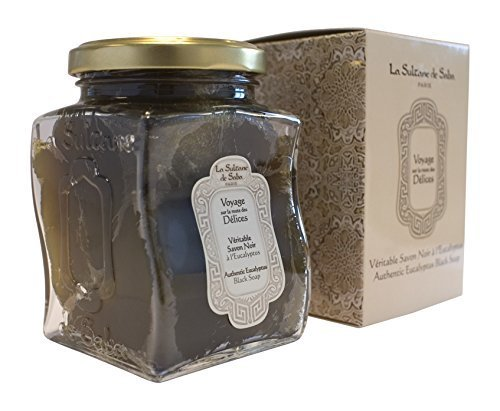 La Sultane De Saba Black Soap with Eucalyptus by La Sultane De Saba