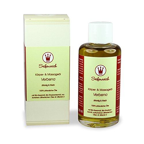 Seifenreich Körper- und Massageöl Verbena, 1er Pack (1 x 100 ml)