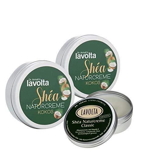 LaVolta Shea Trio Naturcreme Classic 10ml + Soft Kokos 2x10ml