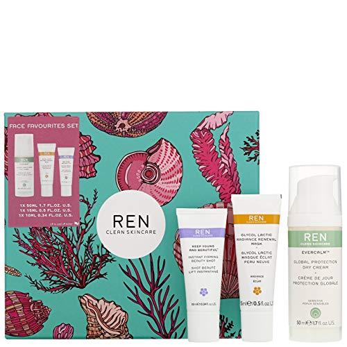 Ren Clean Skincare Face Favourites Geschenkset, 3-teilig