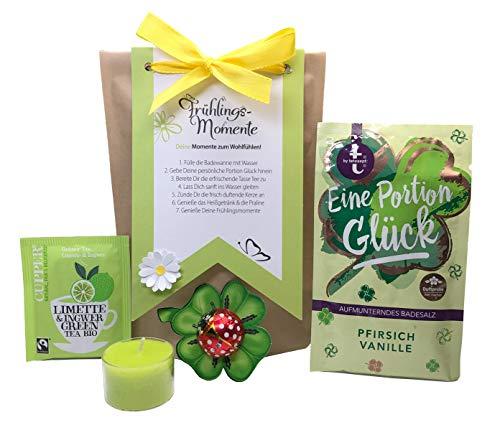 Tinkerella® Frühlings-Momente Wellness-Set Geschenk-Set Mitbringsel Gastgeschenk Frauen