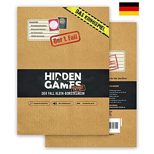 Hidden Games Tatort Krimispiel Fall 1 - Der Fall Klein-Borstelheim - Escape Room Spiel (Deutsche...