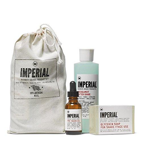Imperial Barber Products Glycerin Shave/Face Soap 183 ml Puck Zum Rasieren als auch zur sanften...