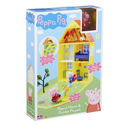 TM TOYS 06156 Wutz Pig 2cm Peppa 's House & Garden Spielset, Multicolour, Einheitsgröße