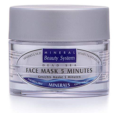 Totes Meer Schlamm Gesichts Maske 5 Minuten 50ml By Mineral Beauty System - Natürliche...