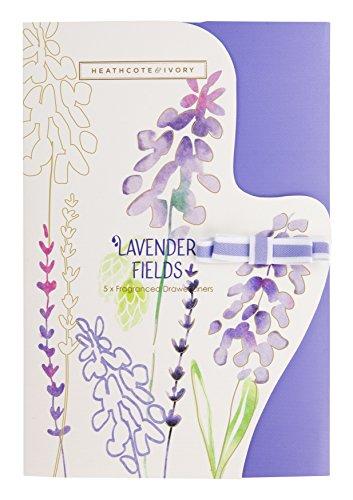 Heathcote & Ivory Lavender Fields Parfümierte Schubladeneinlagen