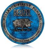 REUZEL Pomade Blue Strong Hold High Sheen, 1er Pack (1 x 340 g)