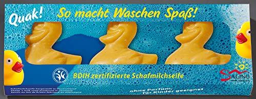Saling Schafmilch Geschenkverpackung'Ente gelb'