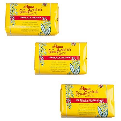 Alvarez Gomez Haar- & Bartpflege Classic Soap Bar 3er Pack 1 Stk.