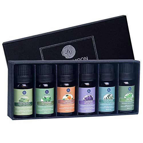 Lagunamoon Ätherische Öle Set 100% Pure Aroma Öle,für therapeutische...