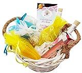 Geschenkkorb Geschenk für Frau Wellness Badeartikel fertig verpackt