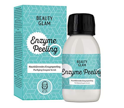 BEAUTY GLAM - Enzyme Peeling Porenverfeinerndes Enzympeeling für das Gesicht, Exfoliator für...