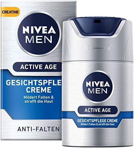 NIVEA MEN Active Age Gesichtspflege Creme im 1er Pack (1 x 50 ml), straffende Gesichtscreme für...