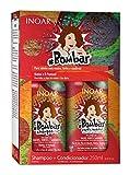 Inoar Dúo Bombar Shampoo und Conditioner mit Biotin und D-Pantenol - 1 Pack
