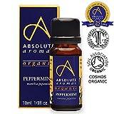 Absolute Aromen Organic Peppermint Oil 10ml