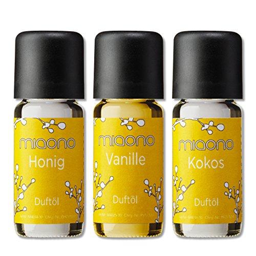 Duftöl Set - So Sweet- feiner Raumduft - Kokosnuss, Vanille, Honig - Aromaöl für Duftlampe und...