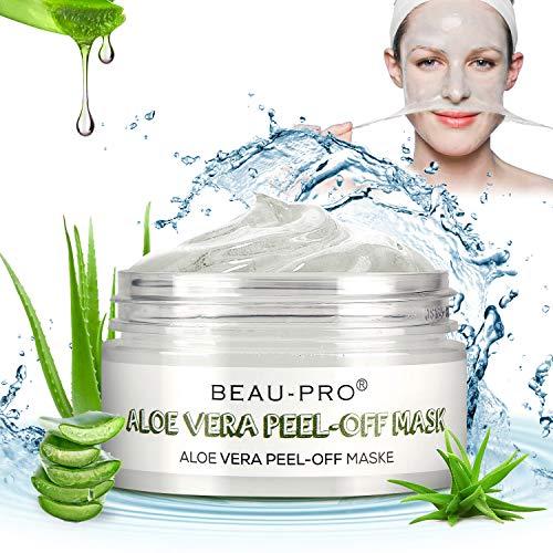 Blackhead Peel Off Mask,Mitesser Maske, Natural & Mild Aloe Vera Gesichtsmaske für Beruhigende und...