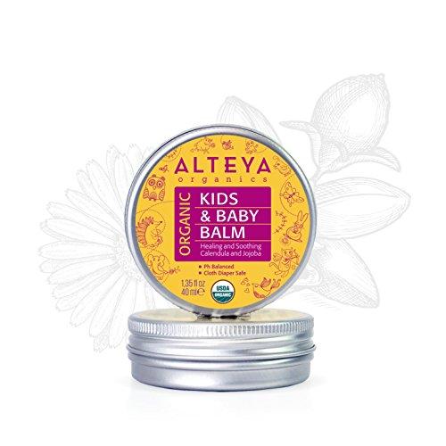 Alteya Bio Babybalsam 40ml – USDA Organic-zertifiziert PREISGEKRÖNT Rein Bio Natürlich -...