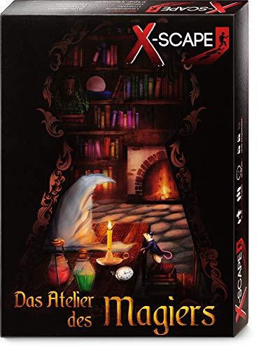 X-SCAPE - Das Atelier des Magiers - Escape Room Spiel für 1-5 Spieler ab 12 Jahren - Level:...