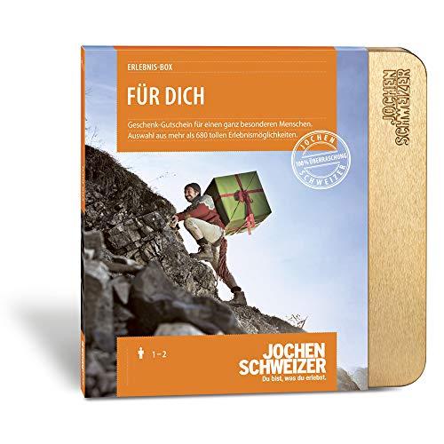Jochen Schweizer Erlebnis-Box Für Dich, über 680 Erlebnisse für 1-2 Personen, Geschenke für...