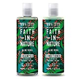Faith in Nature Aloe Vera Shampoo und Conditioner, 400 ml