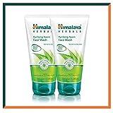 HIMALAYA HERBALS Reinigung Neem-Gesichtswaschgel 150g | Natürliches Gesichtsreinigungsmittel | Akne...