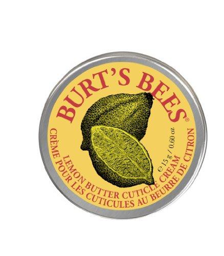 Burt's Bees 100 Prozent Natürliche Zitronenbutter Nagelhautcreme, 15 g Tiegel