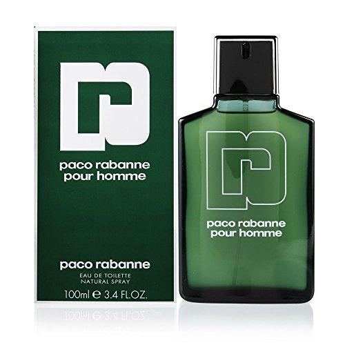 Paco Rabanne Pour Homme / men, Eau de Toilette, Vaporisateur / Spray 100 ml, 1er Pack (1 x 100 ml)