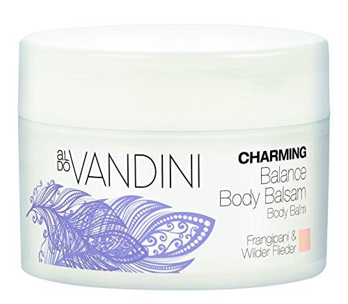 aldoVANDINI CHARMING Balance Body Balsam Frangipani & Wilder Flieder - vegan & parabenfrei, 2er Pack...