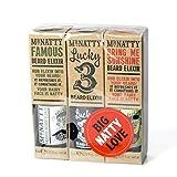 Mr Natty - Triple Elixir Set - Beard - 3-teiliges Bartpflege Set
