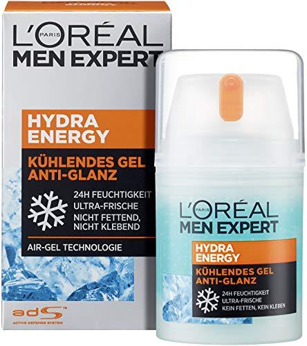 L'Oréal Men Expert Hydra Energy Anti-Glanz, nicht-fettende Feuchtigkeitspflege mit Matteffekt und...